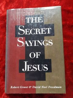 The Secret Sayings of Jesus