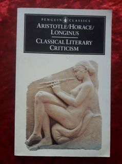 Aristotle - Horace - Longinus