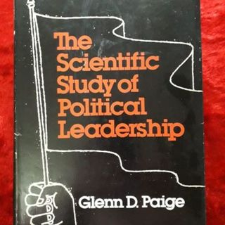 The Scientific Study of Political Leadership