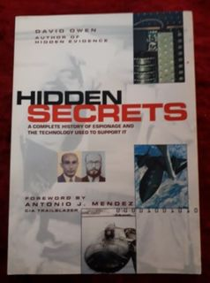 Hidden Secrets - a complete history of espionage and the technology used to support it