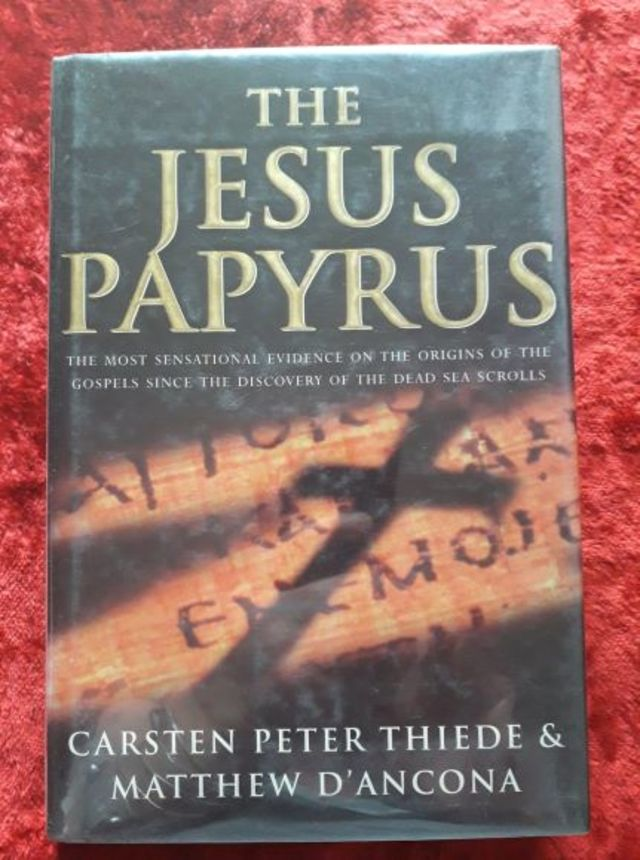 The Jesus Papyrus - The  most sensational evidence on the origins of the Gospels since the disovery of thr Dead Sea Scrolls